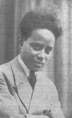 Jean-Joseph Rabearivelo, poeta malgache.
