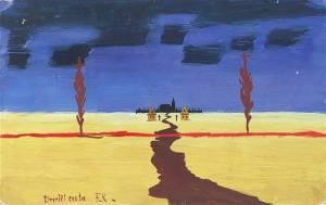 Camino de los muertos, František Kaván