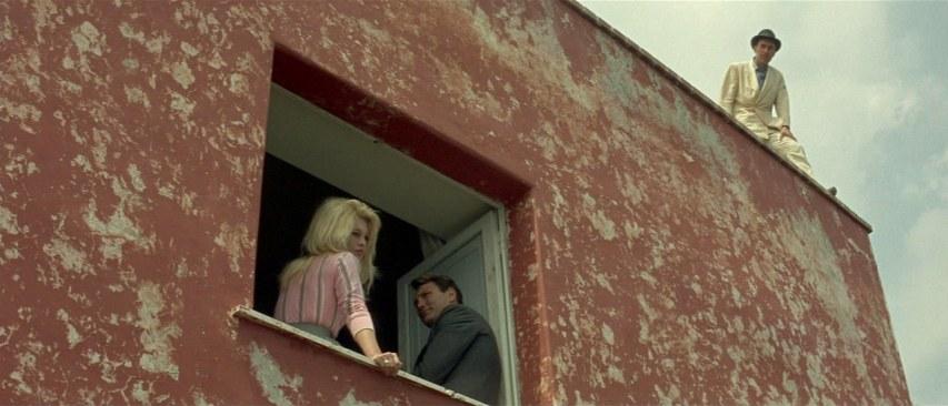 Fotograma de El desprecio dirigida por Jean-Luc Godard