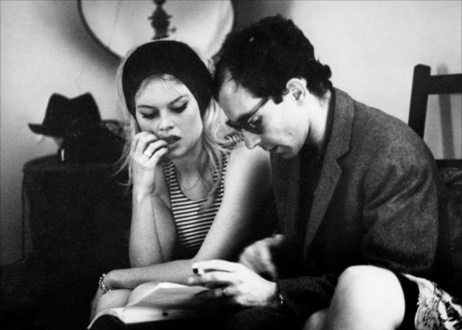 Godard y Brigitte Bardot