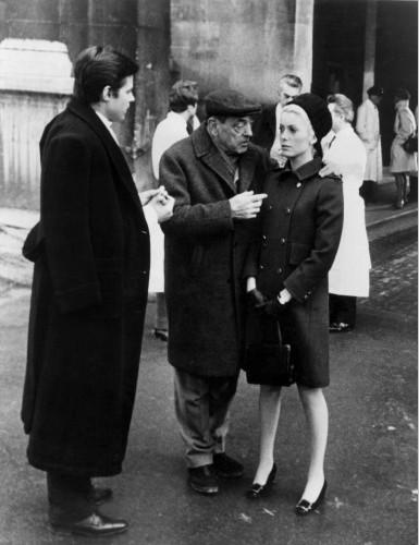Buñuel y Catherine Deneuve