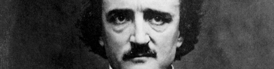 La mirada permanentemente inquieta de Poe.
