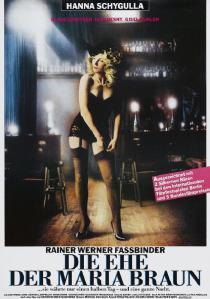 El matrimonio de María Braun de Fassbinder con Hanna Shygulla