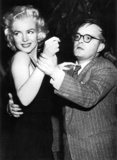 Bailando con Marilyn Monroe.