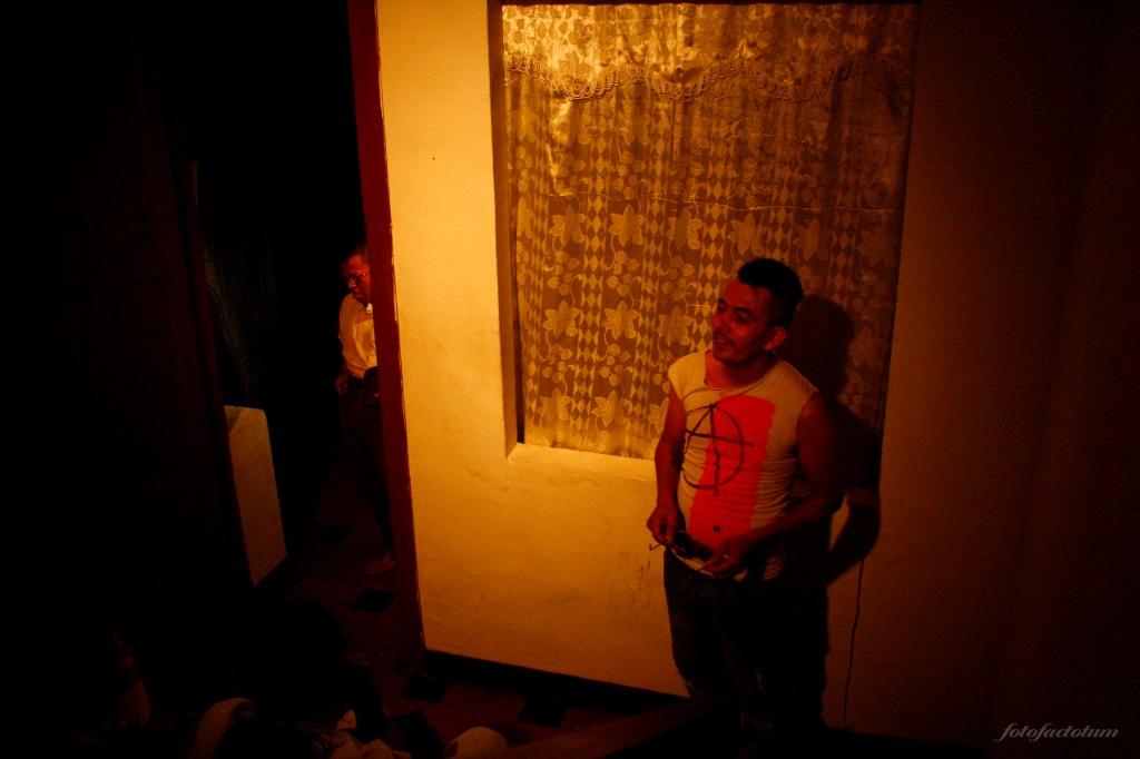 Robledo, el usurpador. Farsa Punk. Foto: Ángel Ortiz González.