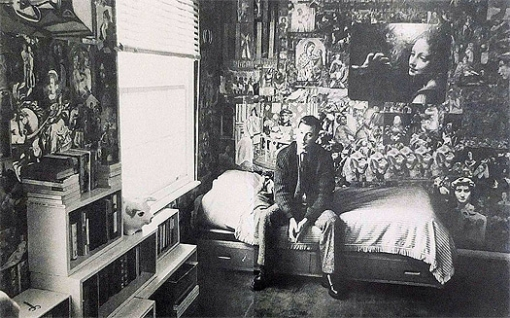 """Joe Orton: """"Viernes 13 de enero de 1967. Día espantoso. Me encontraba fatal por haber bebido tanto la noche anterior"""". Foto tomada de: theguardian.com"""