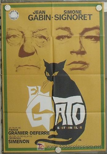 Afiche de la maravillosa película El Gato. Tomado de:
