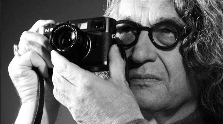 La cámara frente al ojo del poeta. Foto tomada de: