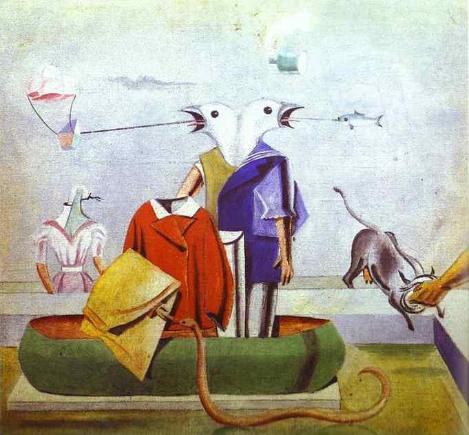 Pájaros, Max Ernst.