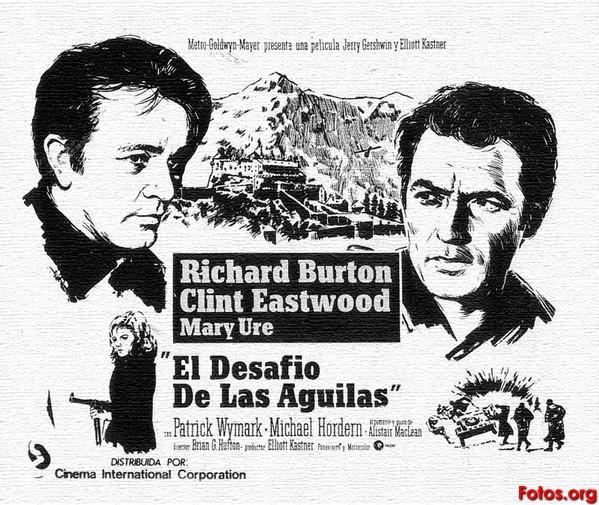 :El Desafío de las Águilas (1967) de Brian G. Hutton. | Foto: http://www.filmaffinity.com/