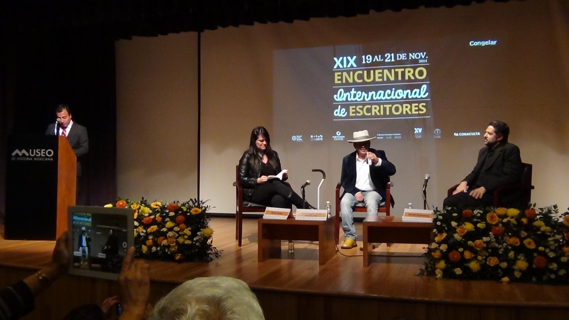 Martín Echeverría XIX Encuentro Internacional de Escritores de Monterrey