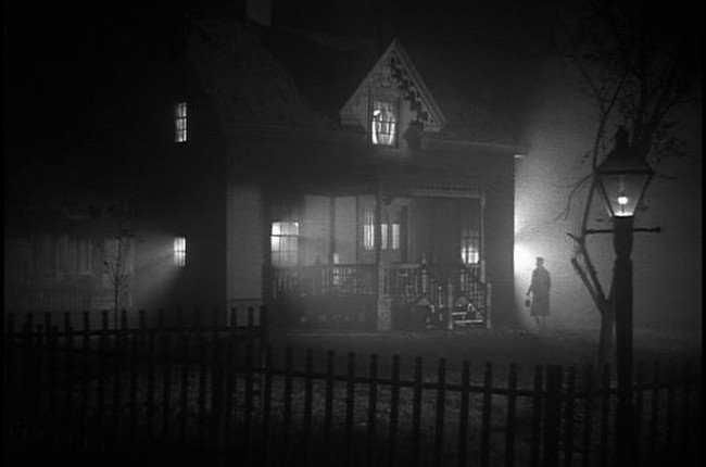 Foto: 'La noche del cazador', película de Charles Laughton, 1955.