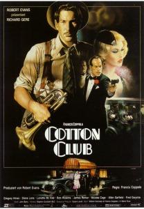 William Kennedy, Francis F. Coppola y Mario Puzo escribieron el guión. Evocan una época concreta (fin de los 20 y principio de los 30) en Harlem (Nueva York), a través del Cotton Club, local donde se reunieron personajes como Charles Chaplin, James Cagney, Gloria Swanson y Duke Ellington.