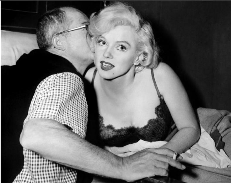 Existen más libros sobre Marilyn Monroe que sobre la II Guerra Mundial. Hay una cierta semejanza entre las dos: era el infierno, pero valía la pena. Billy Wilder.