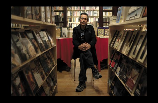 Evelio Rosero Diago (Foto tomada de cromos.com.co).