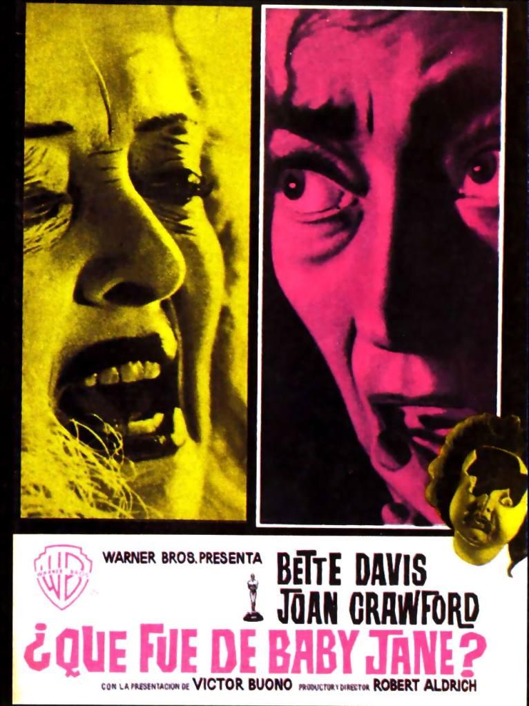 Basada en la novela homónima de Henry Farrell. Dirigida por Robert Aldrich y con dos estrellas de la era dorada de Hollywood: Bette Davis y Joan Crawford, enemigas de toda la vida.