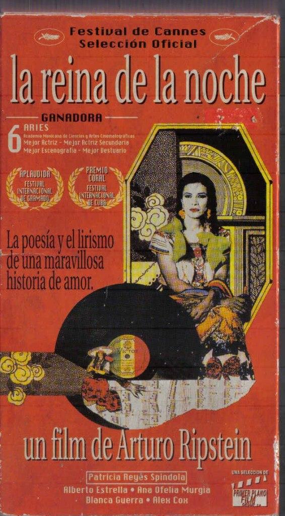 """Tuve el privilegio de trabajar con Arturo Ripstein en 'La Reina de la noche'. Ya estaba preparada para disfrutar del trabajo cinematográfico, amar y entender este oficio, saborear los planos secuencias"""". Patricia Reyes Spíndola."""