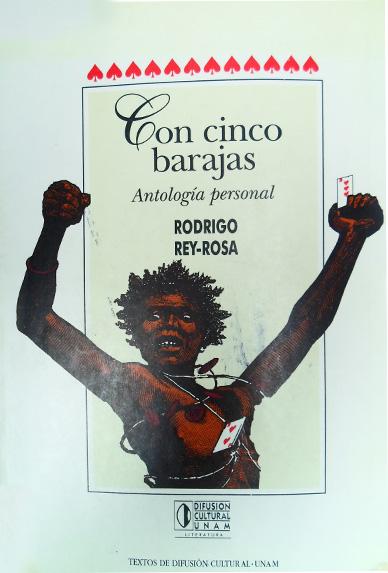 Rodrigo Rey-Rosa, Con cinco barajas, Literariedad.co