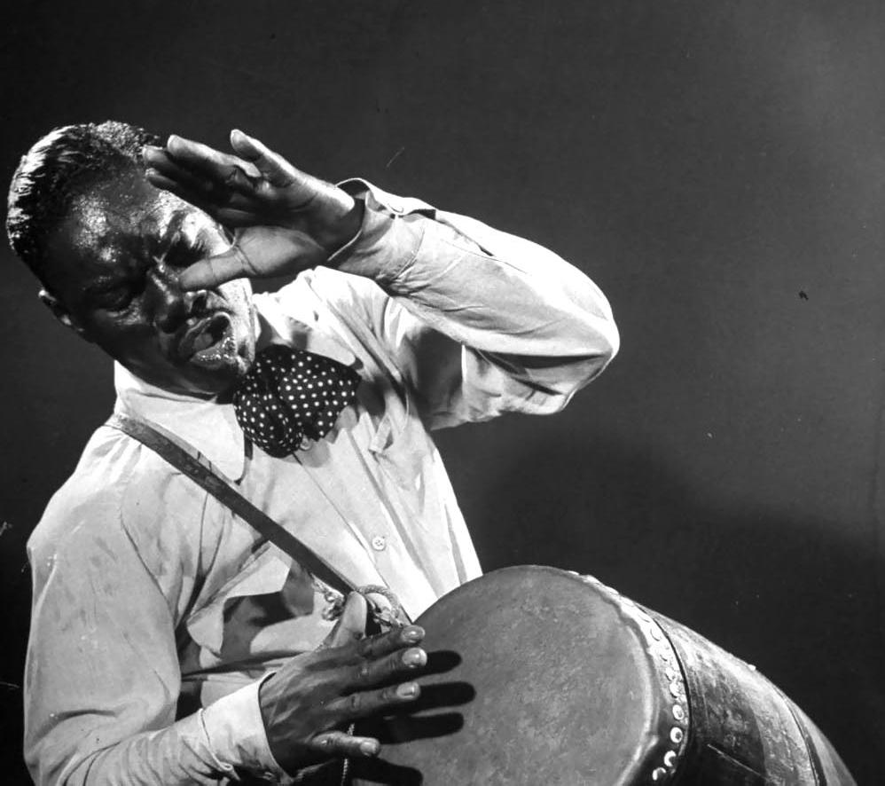 "Chano Pozo, ""El tambor de Cuba"". (Foto: http://worldwidecubanmusic.com/)."