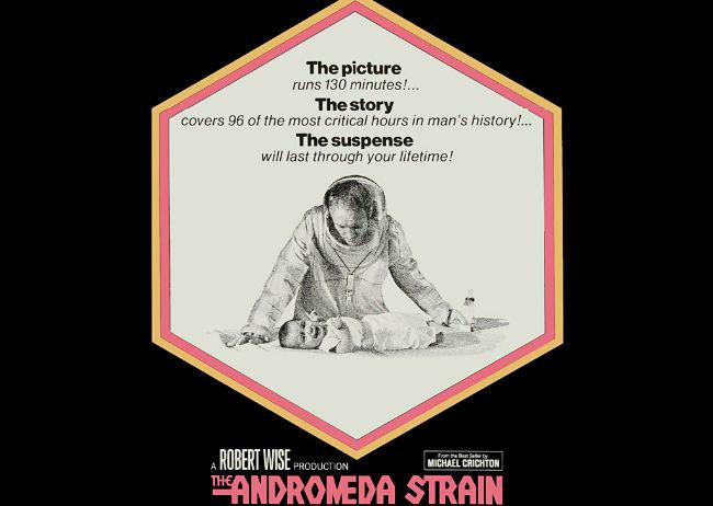 A Robert Wise le debíamos esa maravilla que es The Day the Earth Stood Still, una cinta opuesta a la adaptación que hará de La amenaza de Andrómeda, primera novela de Michael Crichton.