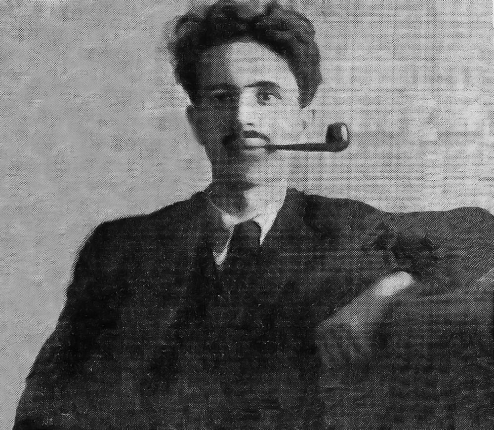 El cronista Luis Tejada.