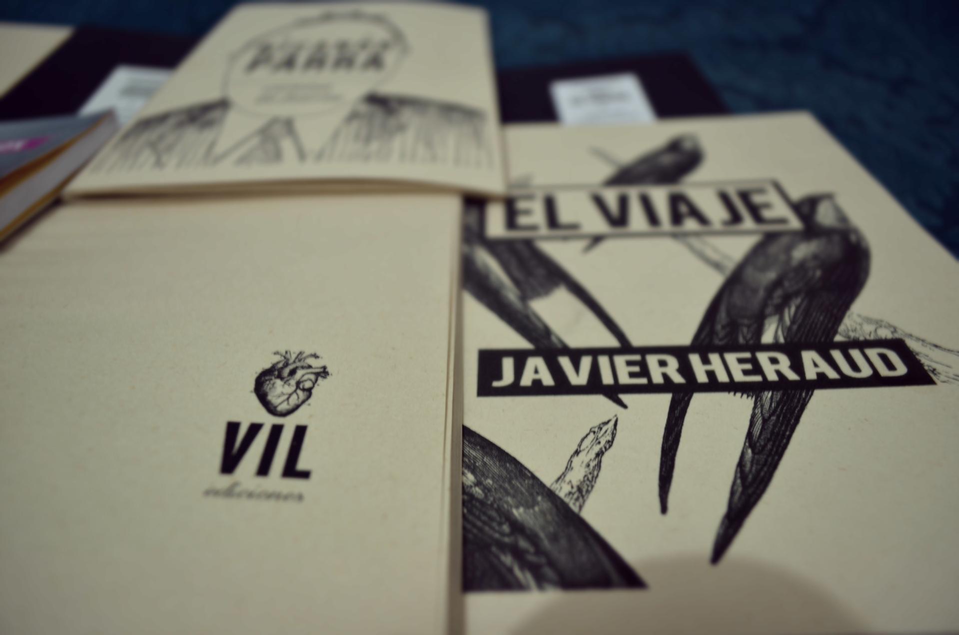 Javier Heraud, El Viaje. Vil Ediciones. Foto de john Díaz para Literariedad.