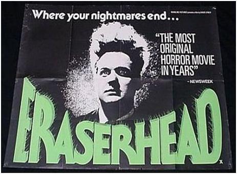 Es la película más personal de David Lynch. Además de estar posiblemente basada en sus experiencias adolescentes en Filadelfia, hizo prácticamente todo en la película, desde dirección y producción, diseño de producción, audio, cámara y efectos especiales.