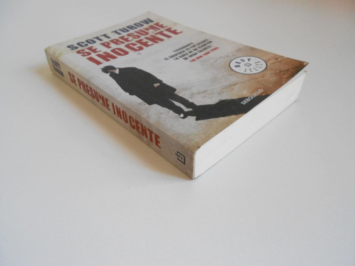 Scott Turow refleja en esta novela un mundo tan similar al nuestro que su recuerdo seguirá obsesionando al lector incluso después de resuelto el misterio, porque muy pocas novelas muestran los mecanismos, la psicología, la lógica del mundo de la justicia con tanta verosimilitud como este relato.