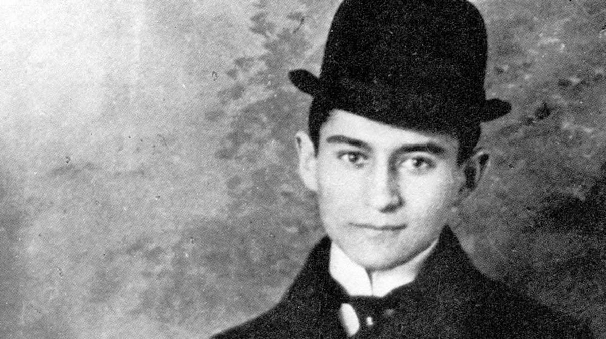 Franz Kafka (1883-1924).