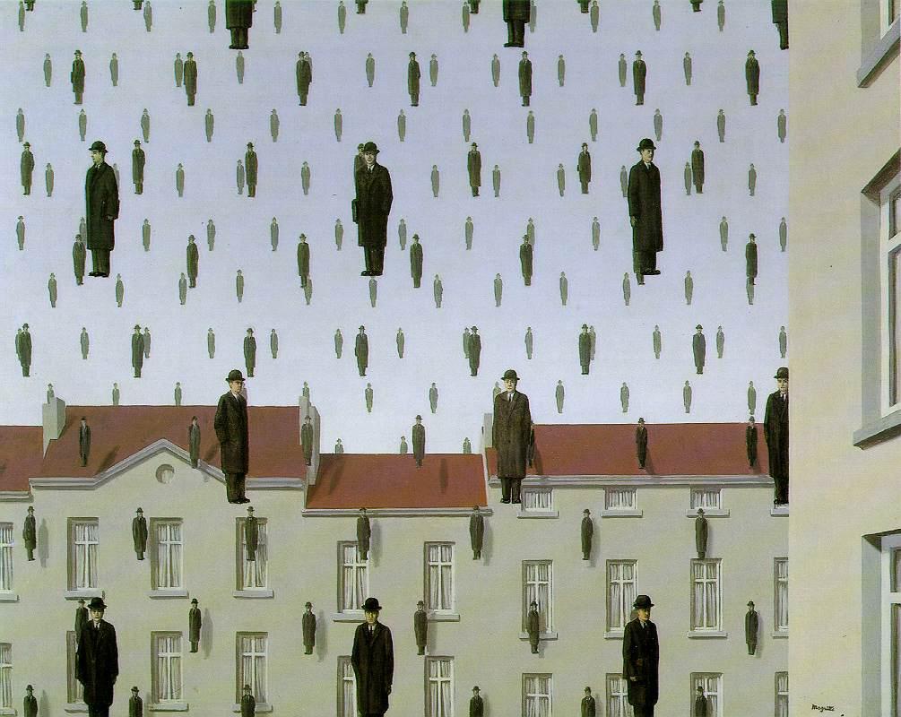 René Magritte. Giaconda, 1953. (Imagen tomada de mattesonart.com).