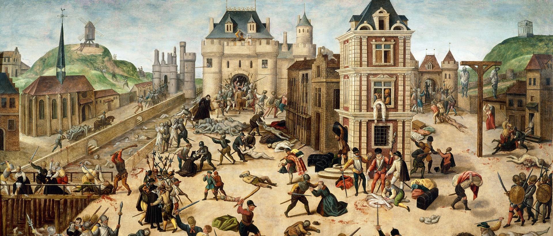 François Dubois, La matanza de San Bartolomé (1576-1584), Musée Cantonal de Beaux-Arts, Lausanne. Foto: Hollandse Hoogte.