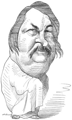 Famosa ilustración de David Levine.