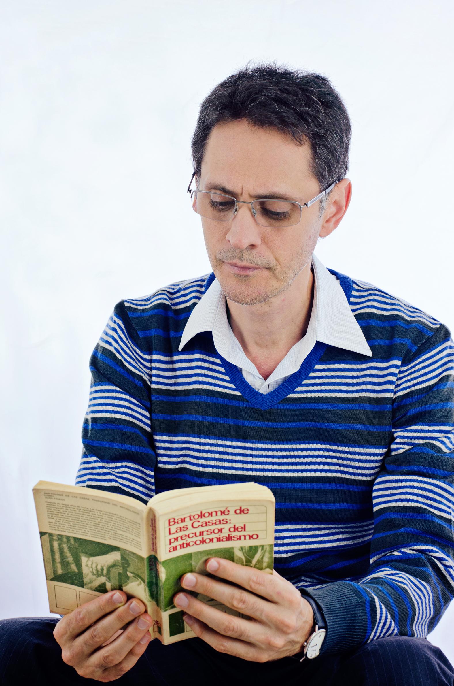 Pablo Montoya. Foto: Adriana Agudelo-Toro.