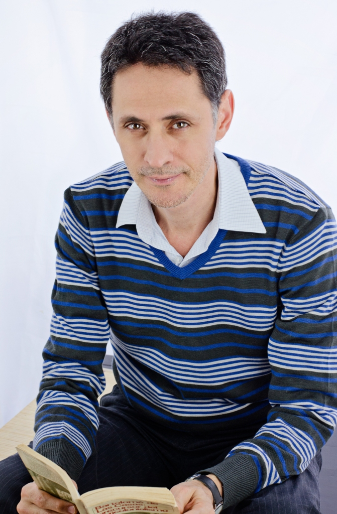 Pablo Montoya. Foto por Adriana Agudelo-Toro.