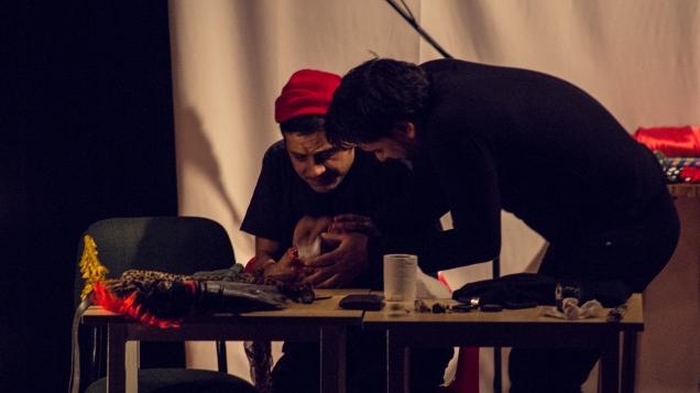 Acto No. 2. DeRReojo. Foto: Andrés Felipe Rivera.