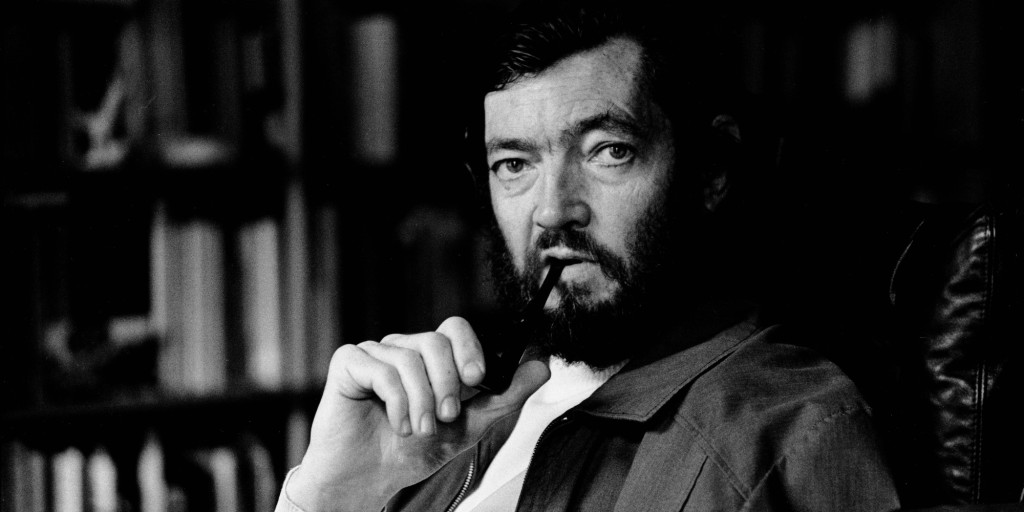 PARIS, FRANCE : Argentinian writer Julio Cortazar poses at home in Paris, France, 27th November 1978. (Photo Ulf Andersen/Getty Images)