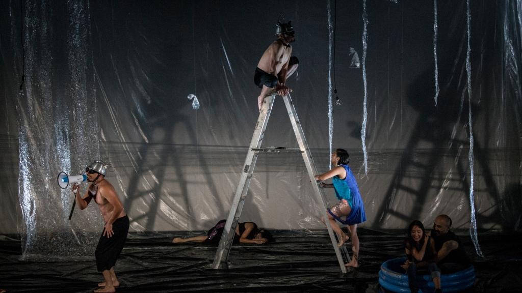 Inunda. Teatro de los Sueños. Foto: Andrés Felipe Rivera.