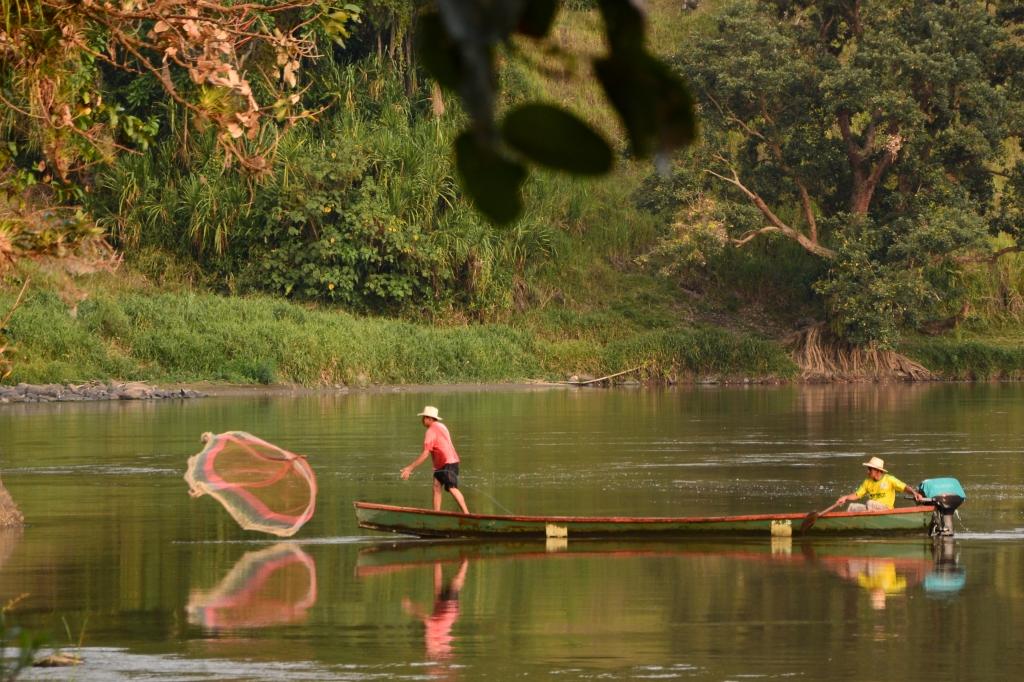 Río Cauca, foto por Edison Cano