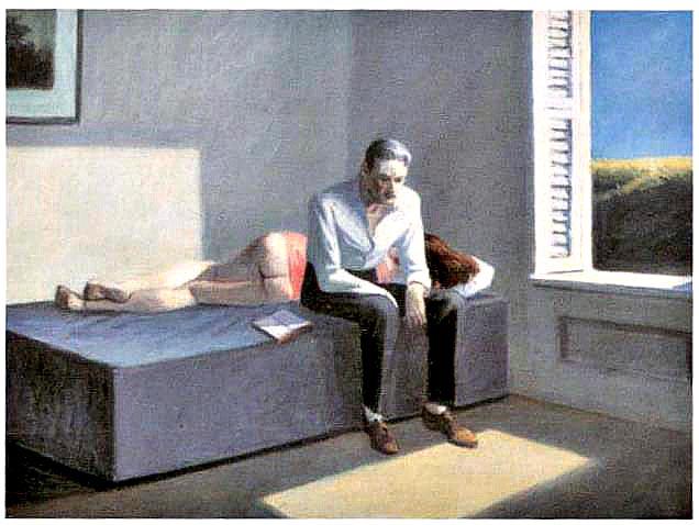 Edward Hopper. Digresión filosófica, 1959.