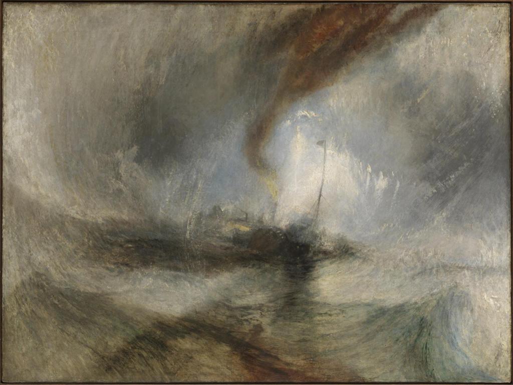 Snow Storm, William Turner.