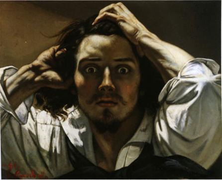 Autorretrato de Coubert. Imagen tomada de idixia.net
