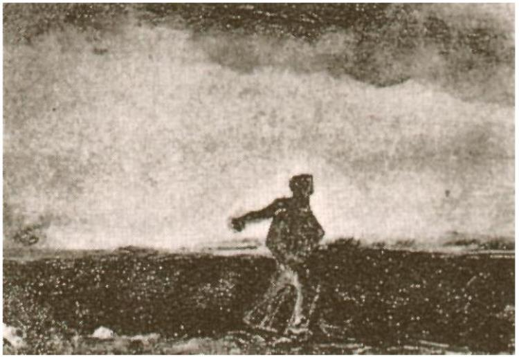 'Sower'. Vincent van Gogh.