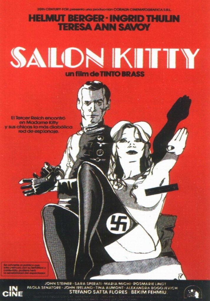 Pero su consagración ocurre en 1976, con la superproducción franco-italo-alemana Salón Kitty, ambientada en la Segunda Guerra Mundial, cuando los nazis deciden cambiar a las prostitutas polacas de un famoso burdel por bellas alemanas, en realidad espías de las SS.