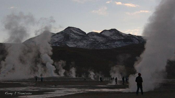 '10 grados'. Tomada en los Geysers del Tatio. Segunda Región de Chile. Por Romy J. Troncoso.