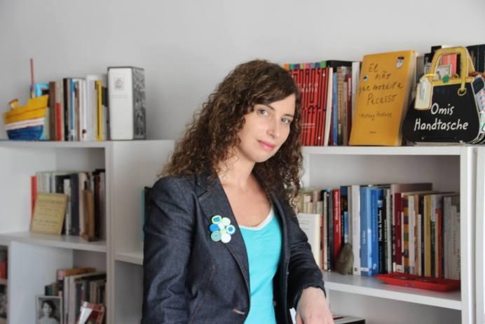 Carolina Bruck. Foto de su archivo particular.