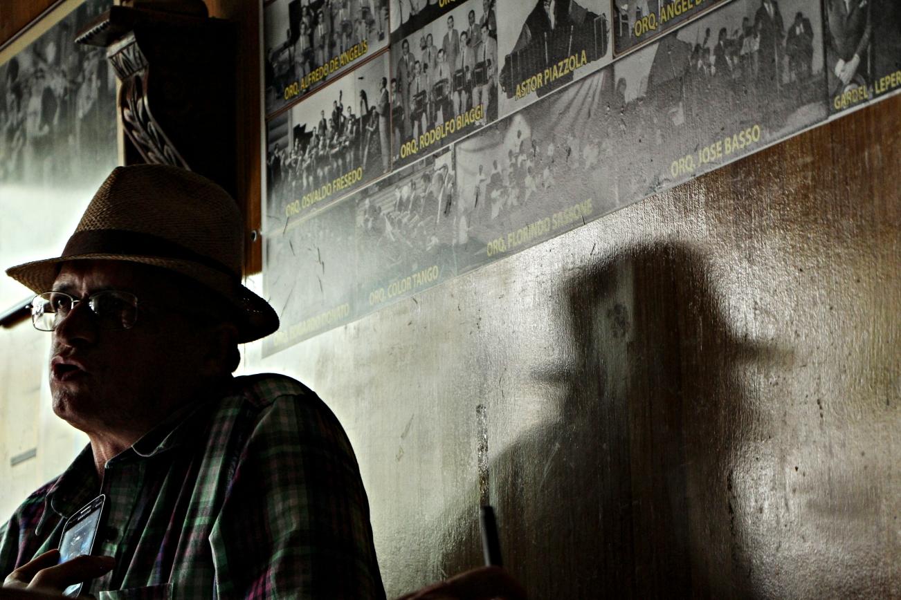Atilio Moncada en 'La Milonguita', Pereira. Foto: Jess Ar.