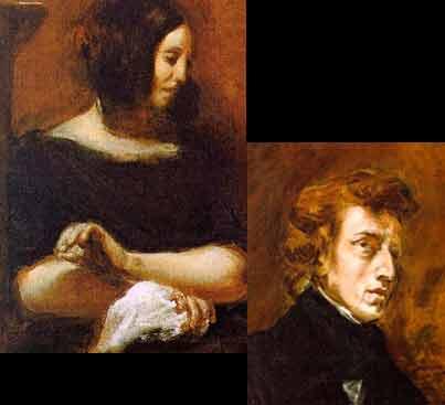 George Sand y Chopin: una pasión invernal.