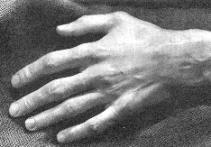 La mano del insigne músico: una síntesis de fuerza y sensibilidad.