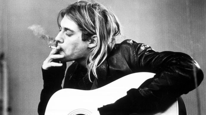 Kurt Cobain. Foto: Rolling Stone.