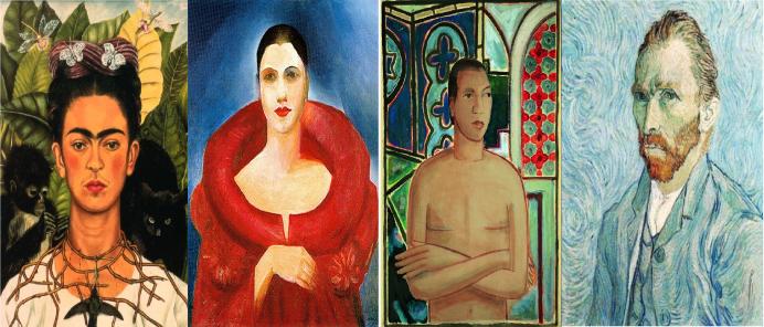 Colección de autorretratos